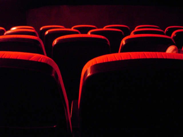 Seats in a theatre